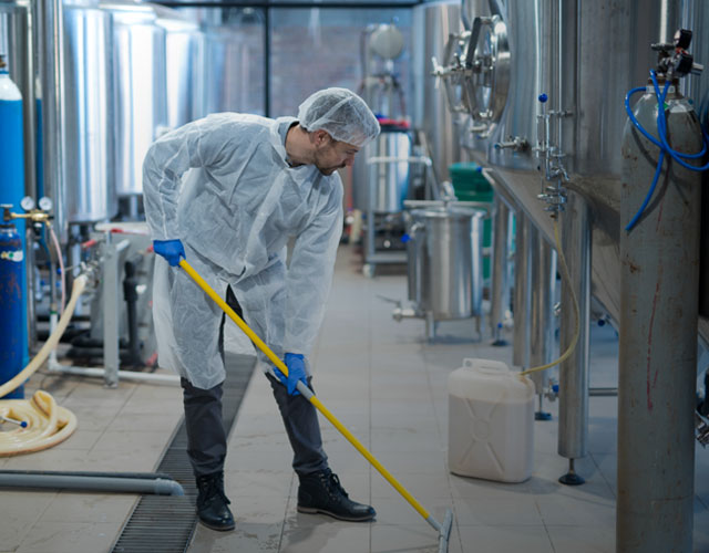 Food Processing & Industrial Cleaning